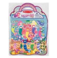 Melissa & Doug Reusable Puffy Sticker Kit- Mermaids