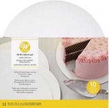 """Cake Circles, 10""""- 12ct"""