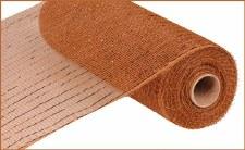 """Geomesh Roll 10"""" x 10yd- Brown w/ Copper Foil"""