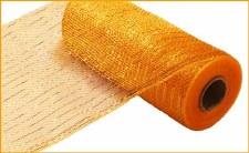 """Geomesh Roll 10"""" x 10yd- Bright Gold w/ Gold Foil"""