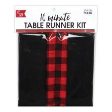 Table Runner Kit- Red & Black Buffalo Check