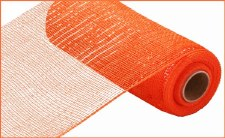 "Geomesh Roll 10"" x 10yd- Orange w/ Orange Foil"