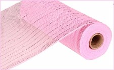 "Geomesh Roll 10"" x 10yd- Light Pink w/ Pink Foil"