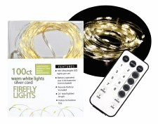 100ct Firefly Lights w/ Remote- Warm White