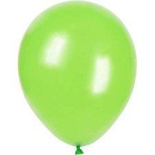 "12"" Balloons, 10ct- Lime"