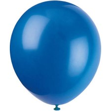 "12"" Balloons, 10ct- Royal Blue"