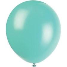 """12"""" Balloons, 10ct- Seafoam Aqua"""