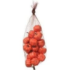 20ct Pumpkins in a Bag