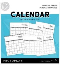 "2022 Calendar, 10""x10"""