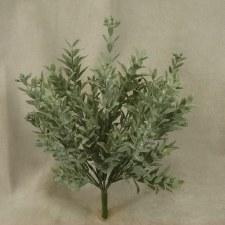 "Eucalyptus Bush- Seeded Flower Leaf, 10"""