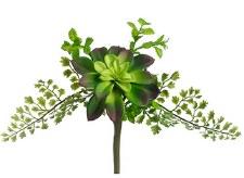 """Succulent & Fern Pick, 11"""""""