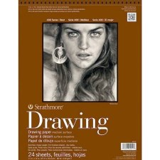 "Strathmore 400 Series 11""x14"" Drawing Pad, 24 Sheets"