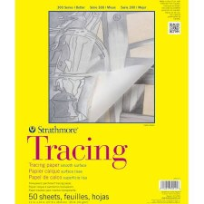 "Strathmore 300 Series 11""x14"" Tracing Paper, 50 Sheets"