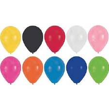"""Touch of Color 12"""" Latex Balloons, 15ct- Assorted Colors"""