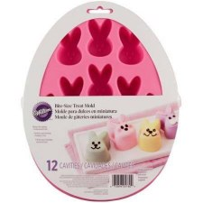 Easter Silicone Treat Mold, 12 cavity- Bunny