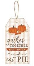 """Gather Together Sign 12"""" x 6.5"""""""