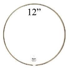 """Gold Metal Ring, 12"""""""