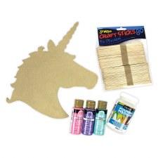 "Paint Pouring Kit, 12""- Unicorn"