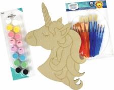 "Painting Kit, 12""- Unicorn"