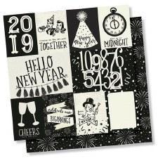 2019 12x12 Paper- 3x4 & 4x6 Elements