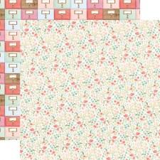 Farmhouse Market 12x12 Paper- Antique Floral