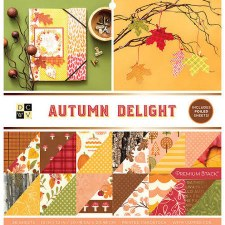 12x12 DCWV Paper Stack- Autumn Delight