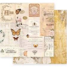 Autumn Sunset 12x12 Paper- Autumn Memories