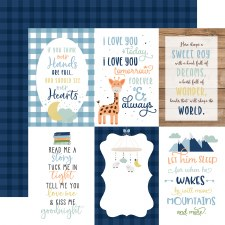 Baby Boy 12x12 Paper- 4x6 Cards