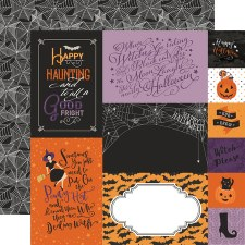 Bewitched 12x12 Paper- Journaling Cards