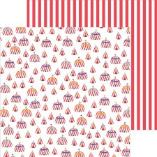 Big Top Dreams 12x12 Paper- Big Top Dreams