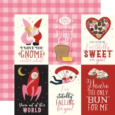 Be My Valentine 12x12 Paper- 4x6 Cards
