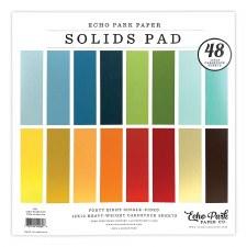 12x12 Solids Paper Pad, 48 Sheets- Boy