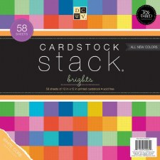 12x12 DCWV Paper Stack- Brights