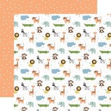 Baby Boy 12x12 Paper- Bundle of Joy