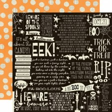 Boo Crew 12x12 Paper- Cast a Spell