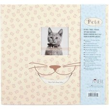 MBI 12x12 Postbound Scrapbook- Cat