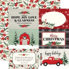 Christmas Market 12x12 Paper- 4x6 Cards