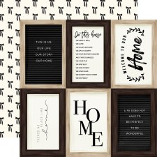Home Again 12x12 Paper- 4x6 Cards