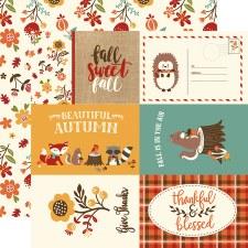Celebrate Autumn 12x12 Paper- 4x6 Cards