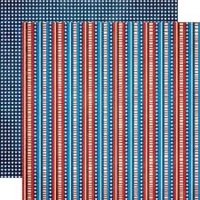 Celebrating Freedom 12x12 Paper- Stars & Stripes