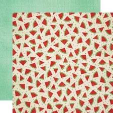 Celebrating Freedom 12x12 Paper- Watermelon
