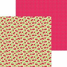 Bar-B-Cute 12x12 Paper - Cherry Sweet