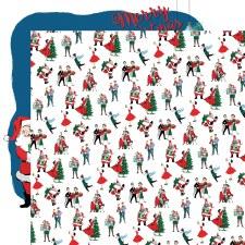 Merry Christmas 12x12 Paper- Christmas Prep