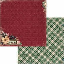 Christmas Treasures 12x12 Paper- Christmas Treasures