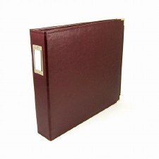 We R Memory Keepers 12x12 Classic Leather 3-Ring Binder- Cinnamon