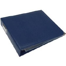 We R Memory Keepers 12x12 Classic Leather 3-Ring Binder- Cobalt