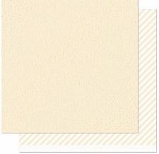 Let it Shine 12x12 Paper- Cream w/ Gold Foil