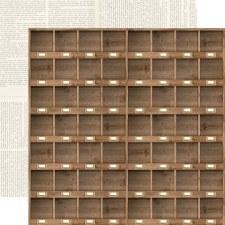 Farmhouse Market 12x12 Paper- Cubbies