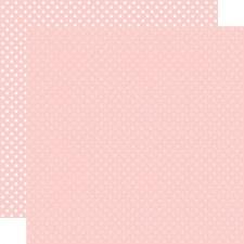 Dots & Stripes 12x12 Paper- Blush