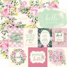 Botanical Garden 12x12 Paper- Daisy Cards